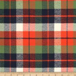 Multicolor Checks Brushed Flannel Fabrics, For Clothing