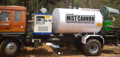 Truck Mounted Mist Cannon Dust Suppression System Excel