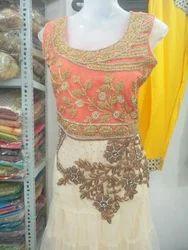 Ladies Net Churidar Suit