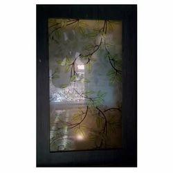 Acid Etching Decorative Glass
