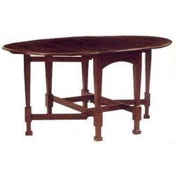 Brown Rosewood Dining Table