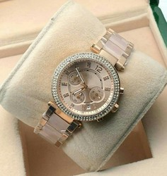 Rose Gold Women MK Standard Ladies Watch