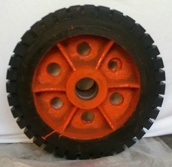 Rubber Bonded CI Wheel 21 x 6