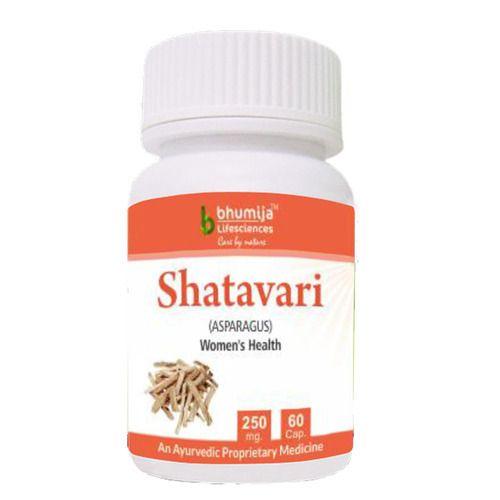 Shatavari Extract Shatavari Capsules, 250 Mg, Packaging Size: 60 Capsules