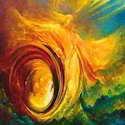Smooth Canvas Abstract Art Work