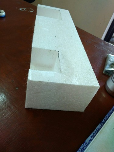 White Thermocol Hand Fabricated Packaging, Size/Dimension: 500