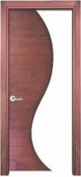 Textured MDF Designer Wooden Door