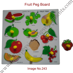 Fruit Peg Board
