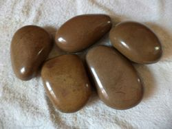 Natural Brown Pebble Stone