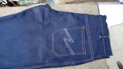 Navy Blue Denim Jeans