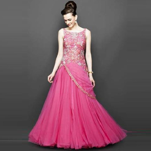 designer gown, ladies gown suit, ladies ka gown, women gown
