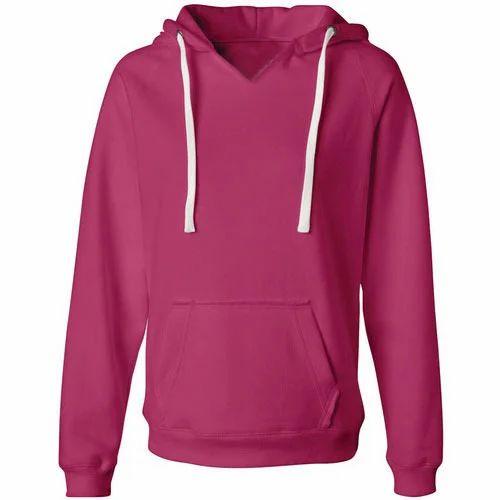 Women Sweatshirts - Women Plain Sweatshirt Manufacturer ...