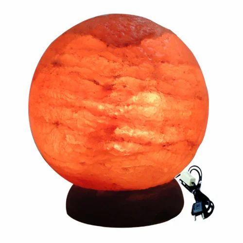 Round Rock Salt Lamp