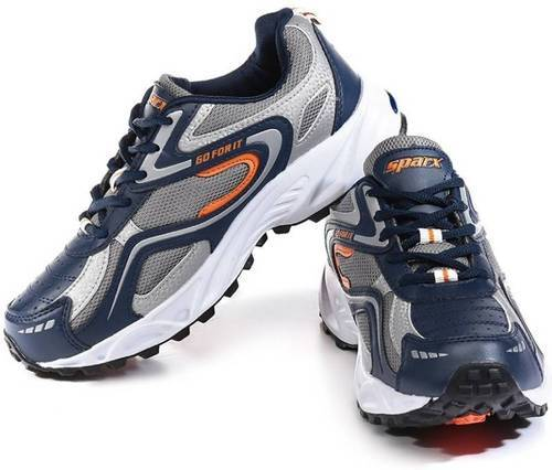 48739d779487e Sparx Navy Blue and Orange Running Shoes at Rs 1399 /pair | Running ...