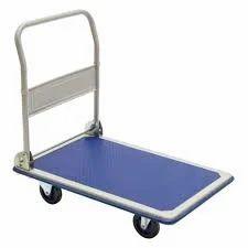 Stainless Steel Platform Trolley, For Industrial, Load Capacity: 50-100 Kg