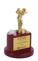 Brass Golf Trophies