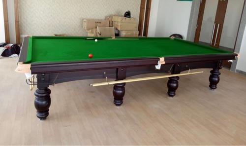 Solid Wood British Billiards Table Steel Block Cushions Rs - British pool table
