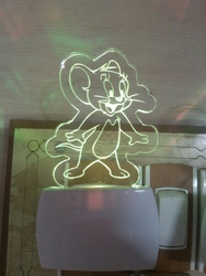 Mickey Mouse Acrylic Night Lamp
