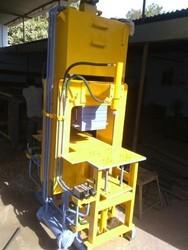 Manual Hydraulic Paver Block Making Machine