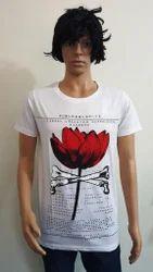 Men's Cotton Round Neck T Shirt