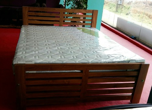 Teak Wood Colour Teak Wood Cot Queen Size Rs 18000 Piece Id