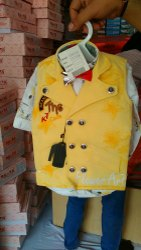 Denim Regular Wear Kids Shirt