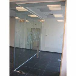Frameless Glass Door