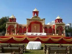 Multicolor Wedding Stage