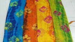 Chiffon Sibori Print Fabrics