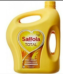 Saffola Oil, High In Protein And Low Cholesterol