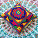 Home Decor Embroidered Cushion Cover