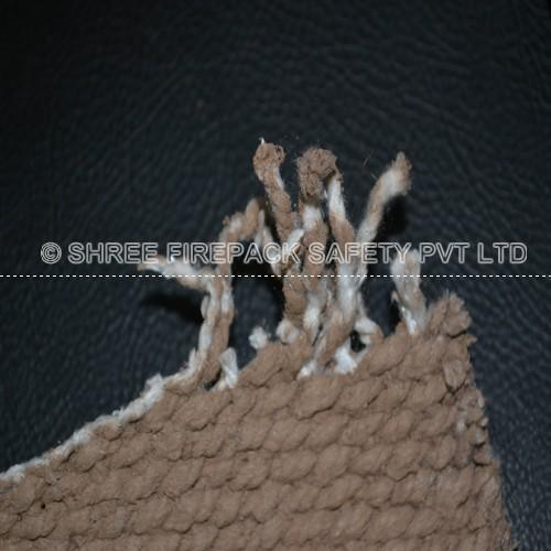 Coated Ceramic Fiber Cloth - Vermiculite Coated Ceramic Fabric
