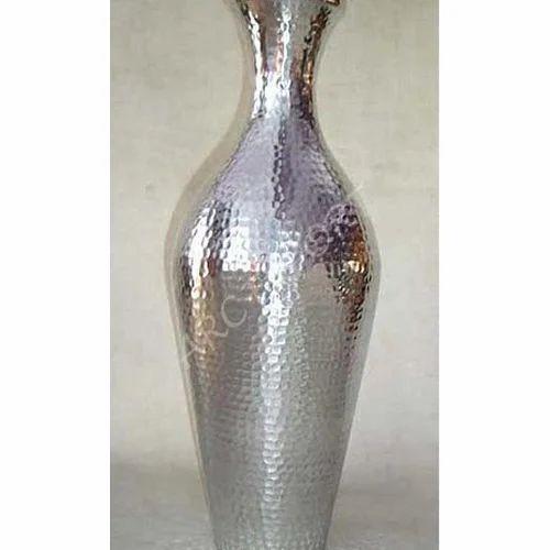 Flower Vases Aluminium Flower Vase Manufacturer From Moradabad