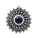 SHNP004 Sterling Silver  Party Wear Nose Pin