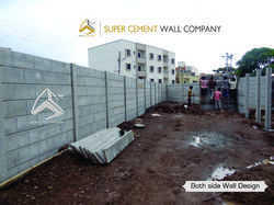 Folding Concrete Boundary Compound Wall