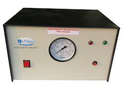Digital Bomb Calorimeter - Auto Gas Filing Unit