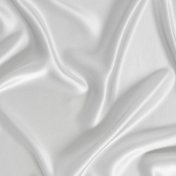 Plain White Satin Fabric