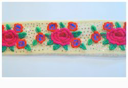 Fancy Embroidered Lace (Trim)