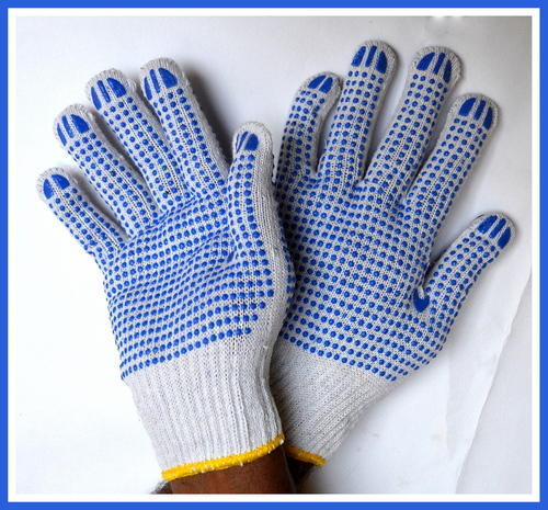 Cotton Knitted Safety Glove And Safety Gloves Manufacturer