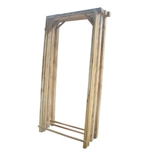 Teakwood Door Frame at Rs 3000 /piece | Wooden Chowkhats, लकड़ी ...