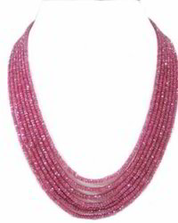 Natural Ruby Beads