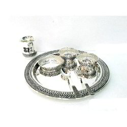 Exclusive Silver Dinner Set