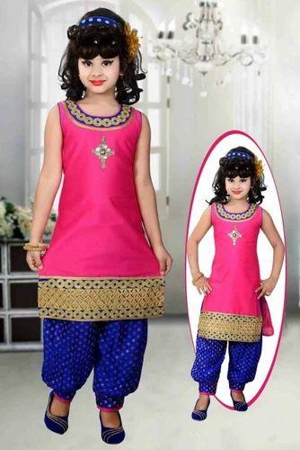 aed42e8974 Girls Patiala Suits at Rs 500 /piece(s) | Children Salwar Kameez ...