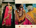 Sunehri Bridal Saree