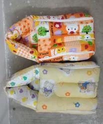 Sanskari Red,Cream Baby Carrier Travel Safe Bed