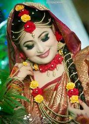 Artificial Flower Full Bridal Set