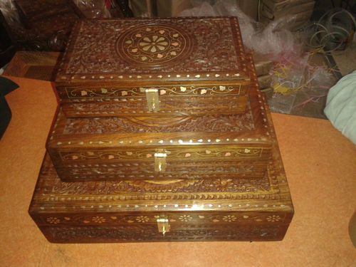Wood Carving Furniture And Wooden Handicrafts Insence Box Stick