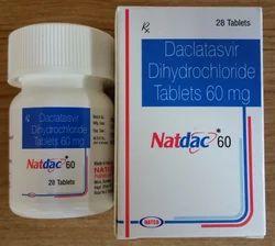 Natdac 60 Daclatasvir Tablets
