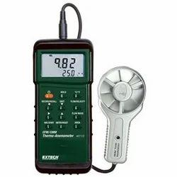 Heavy Duty CFM Metal Vane Anemometer