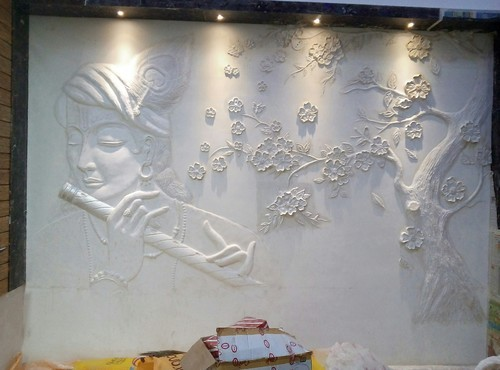 Krishna Wall Murals at Rs 2000 square feet Wall Murals ID